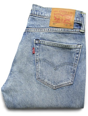 Levi's Washed 511 Jeans
