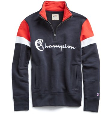 Todd Snyder + Champion Colorblock Sweatshirt
