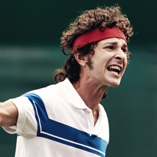 Shia LaBeouf as John McEnroe