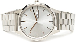 Uniform Wares Stainless Steel Watch with Swiss Movement