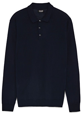 Zara Knit Polo Shirt