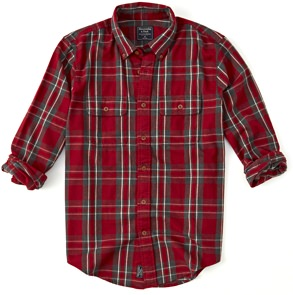 Abercrombie & Fitch Plaid Flannel Shirt