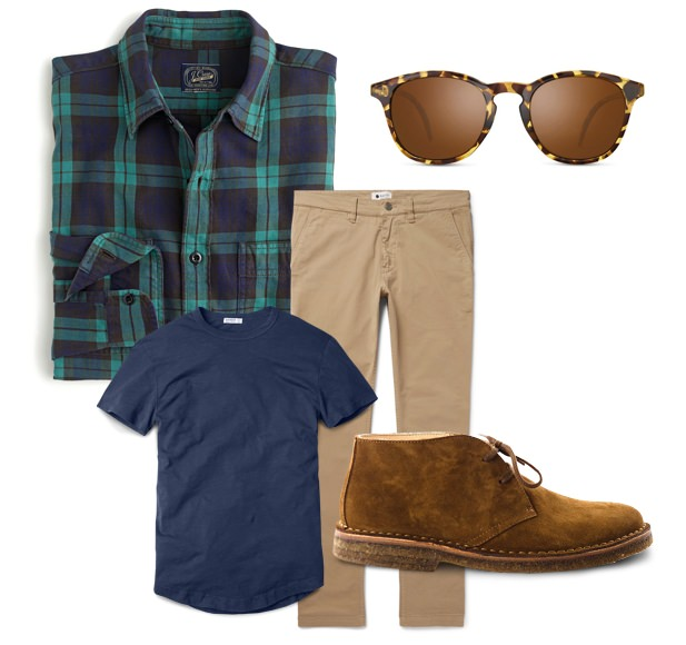 Warm Climate Men's Holiday Outfits