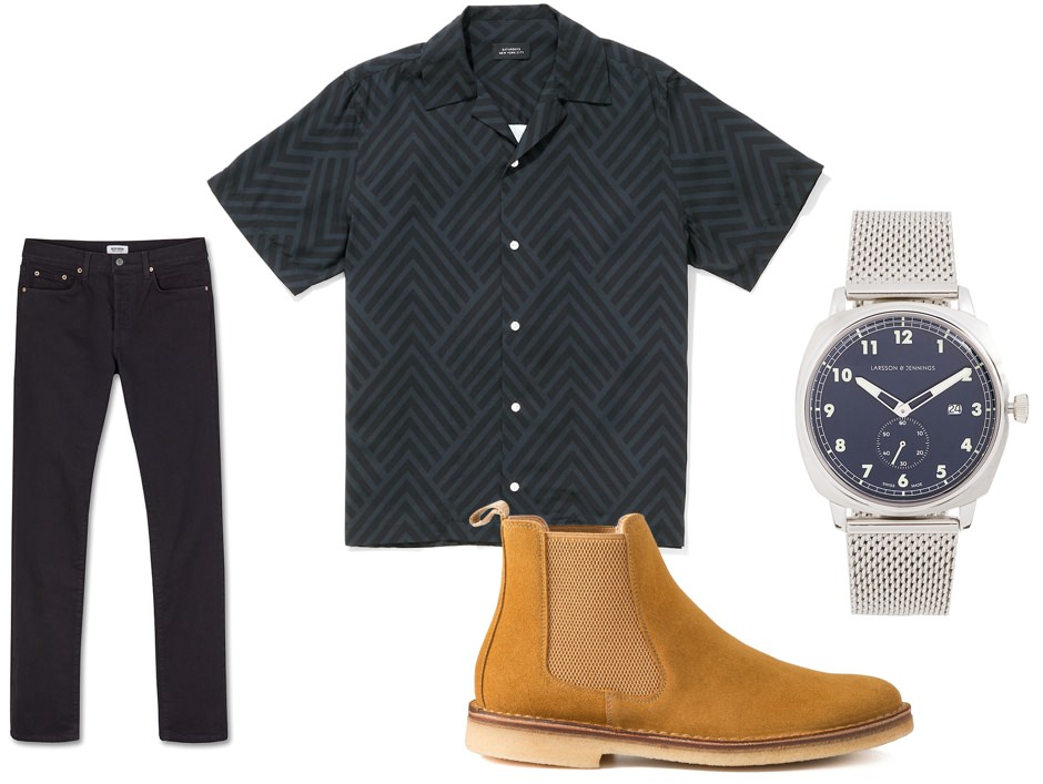 After work date men's outfit option