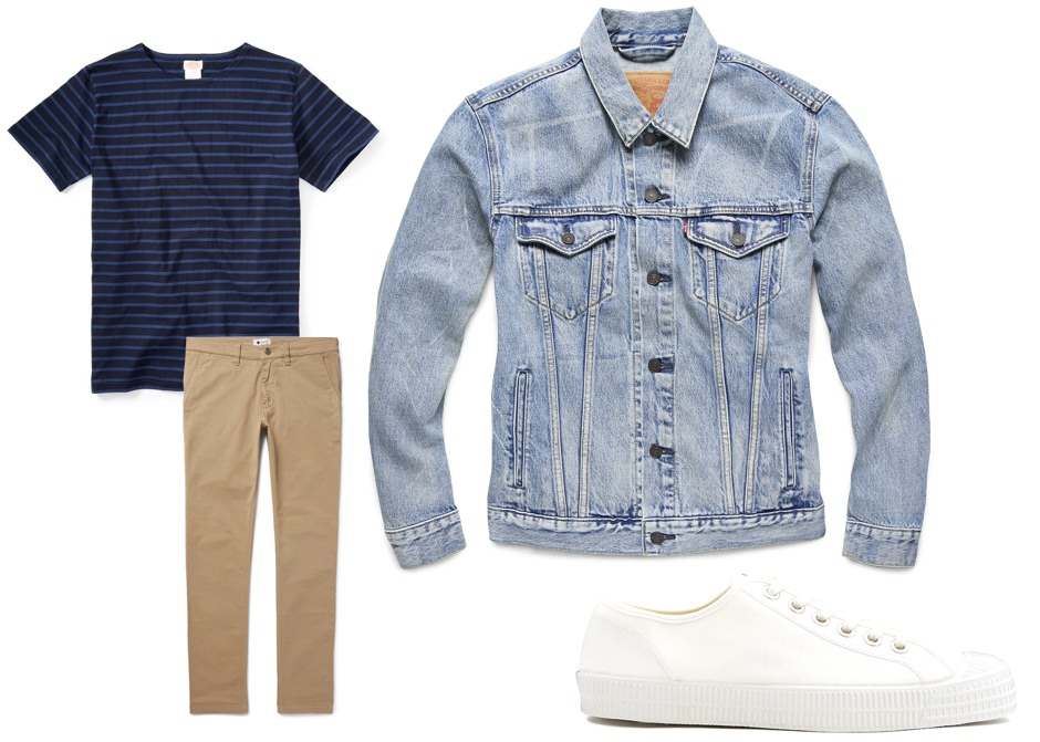 Daytime date men's outfit option