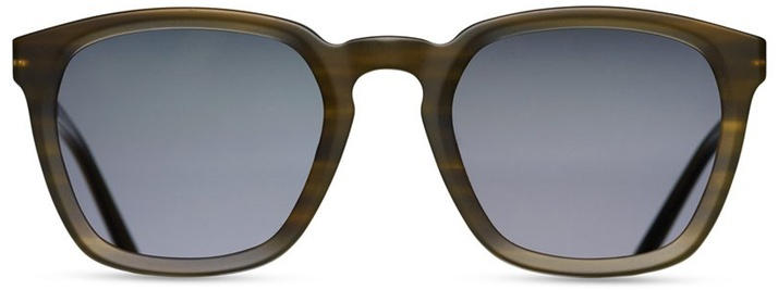 Matsuda Matte Acetate and Antique Silver Sunglasses