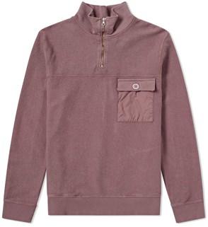 Tres Bien Half-Zip Sweatshirt