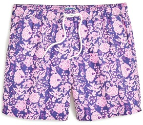 J.Crew Floral Swim Trunks