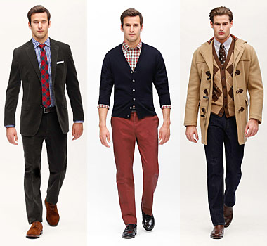purchase cheap 100% top quality on feet shots of Look: Brooks Brothers' Fall 2010 Collection | Valet.
