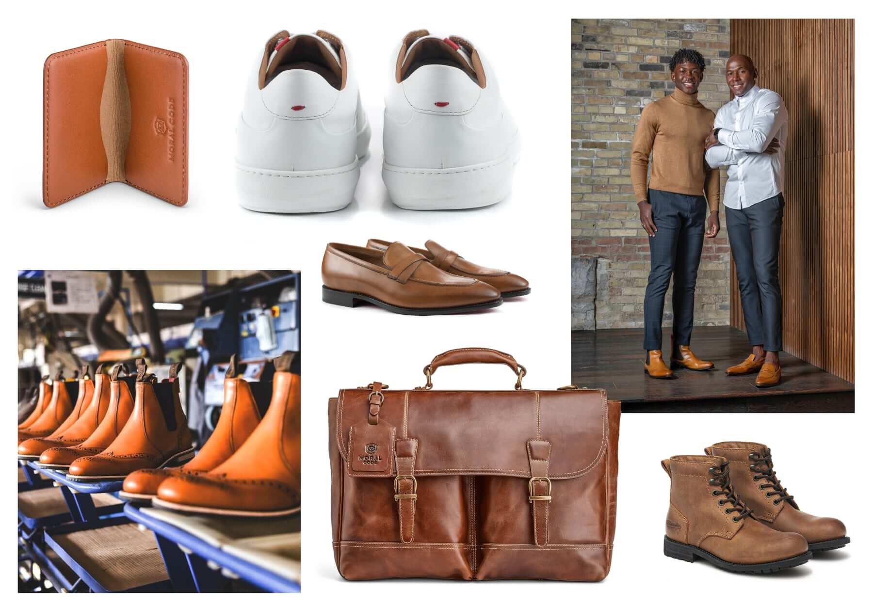 Moral Code and Milwaukee Boot Co. leather goods giveaway