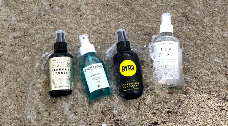 Instantly Improve Your Hair With These Salt-Infused Sprays