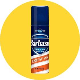 Barbasol Thick and Rich Sensitive Skin Shave Cream