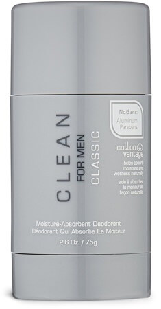 Clean for Men Moisture-Absorbent Deodorant