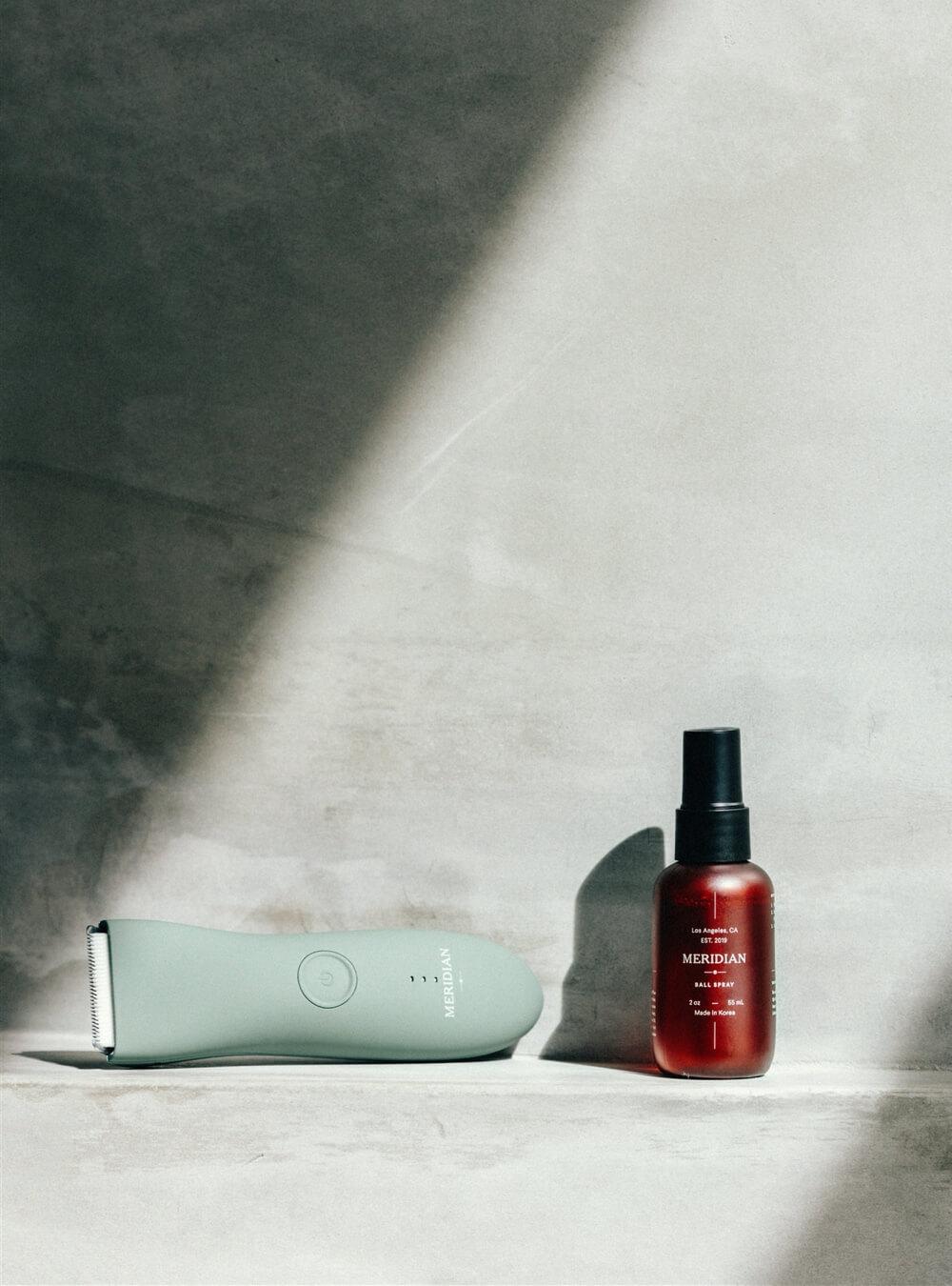 Meridian men's body hair grooming products