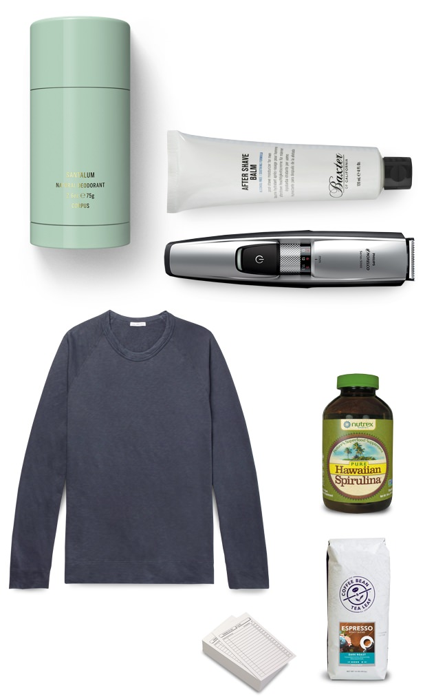 J.P. Mastey's favorite morning grooming products