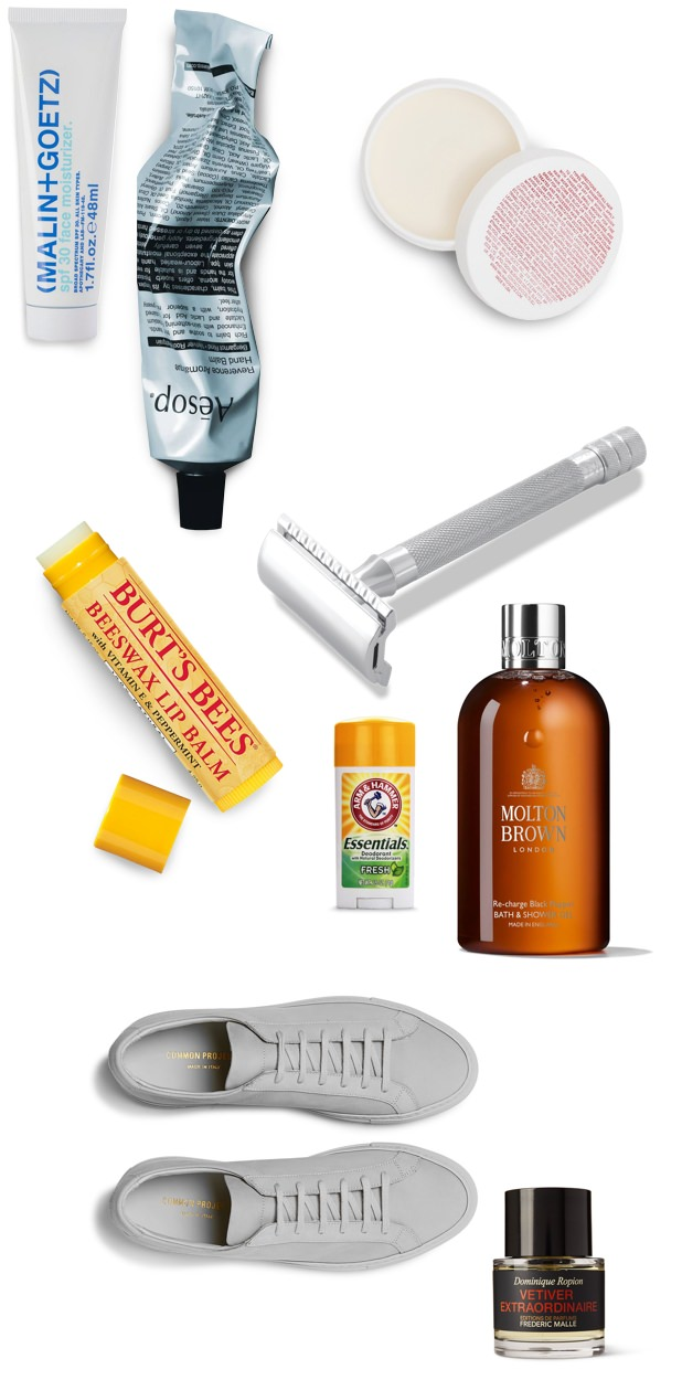 Stephen Pulvirent' favorite morning grooming products
