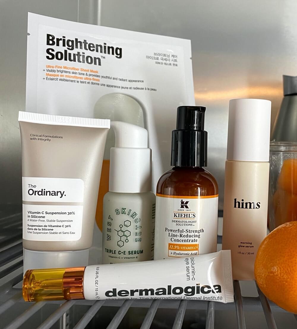 Best men's Vitamin C skin care products