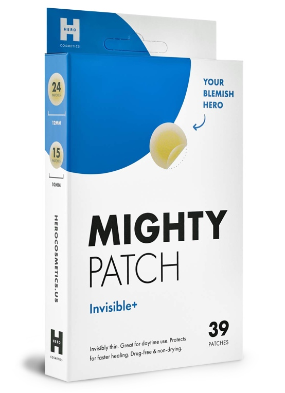Mighty Patch Invisible+ Patches