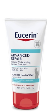 Eucerin Unscented Advanced Repair Hand Cream