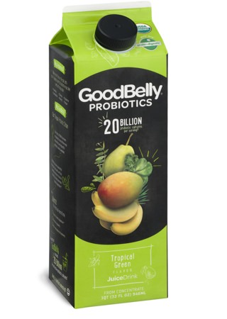GoodBelly Tropical Green Juice