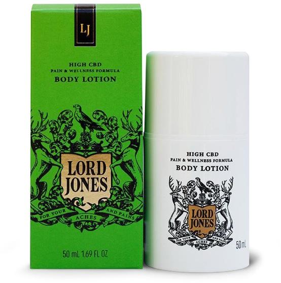 Lord Jones High CBD Pain & Wellness Formula Lotion