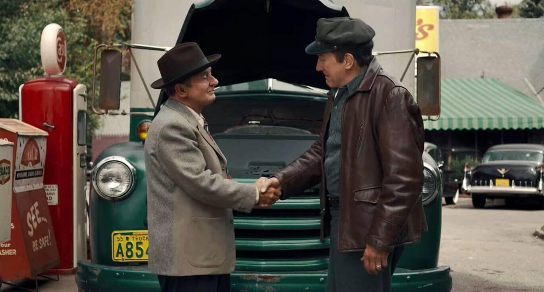 Handshake in The Irishman