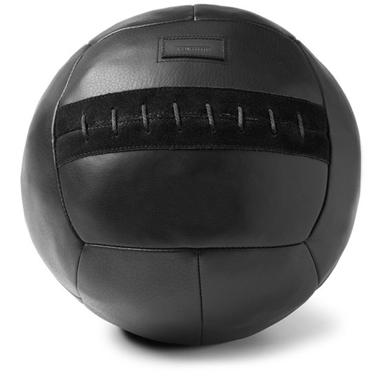 Killspencer Hand-Stitched Leather Medicine Ball