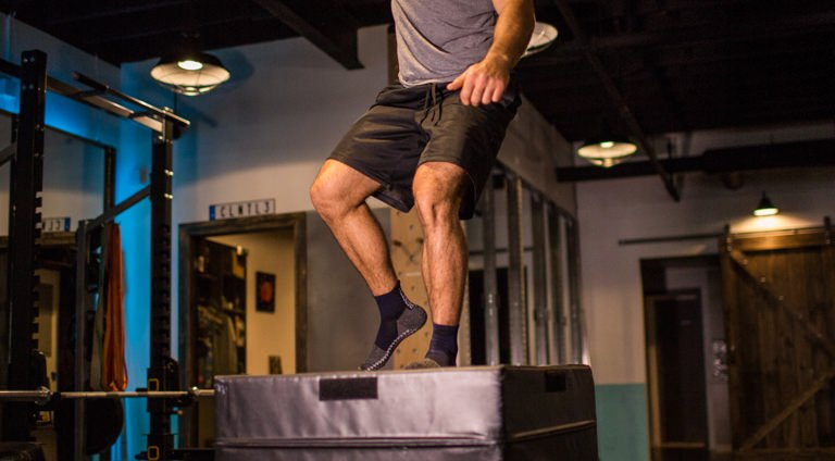 Ditch Your Sneakers to Build Your Muscles