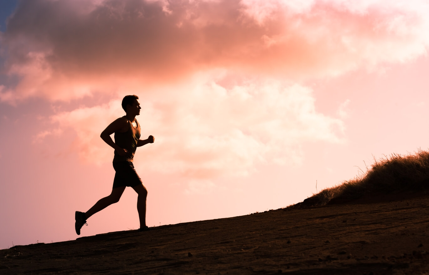 How to fight stress by running