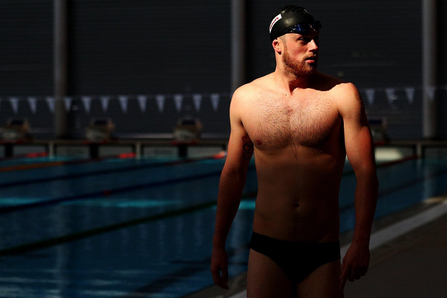 Olympic swimmer Jack Conger