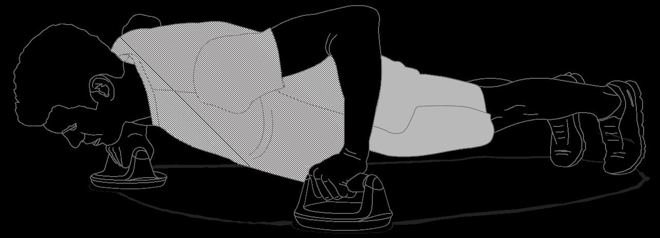 A correct push-up