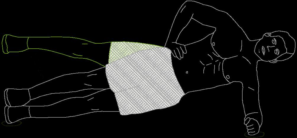 Side Plank Leg Raises exercise
