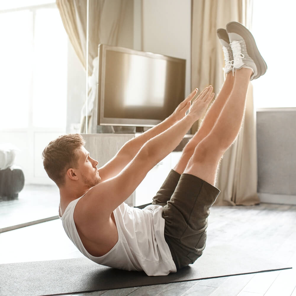 The No-Equipment Home Workout