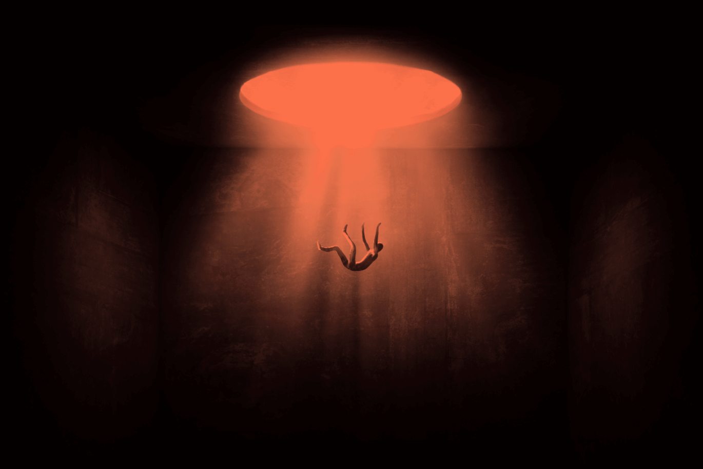 Falling illustration