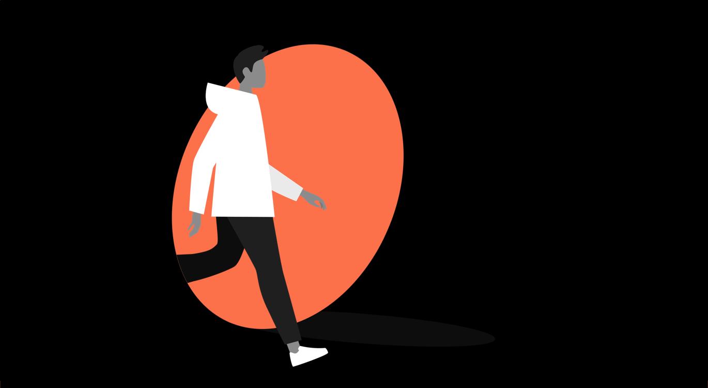 Step into the world illustration