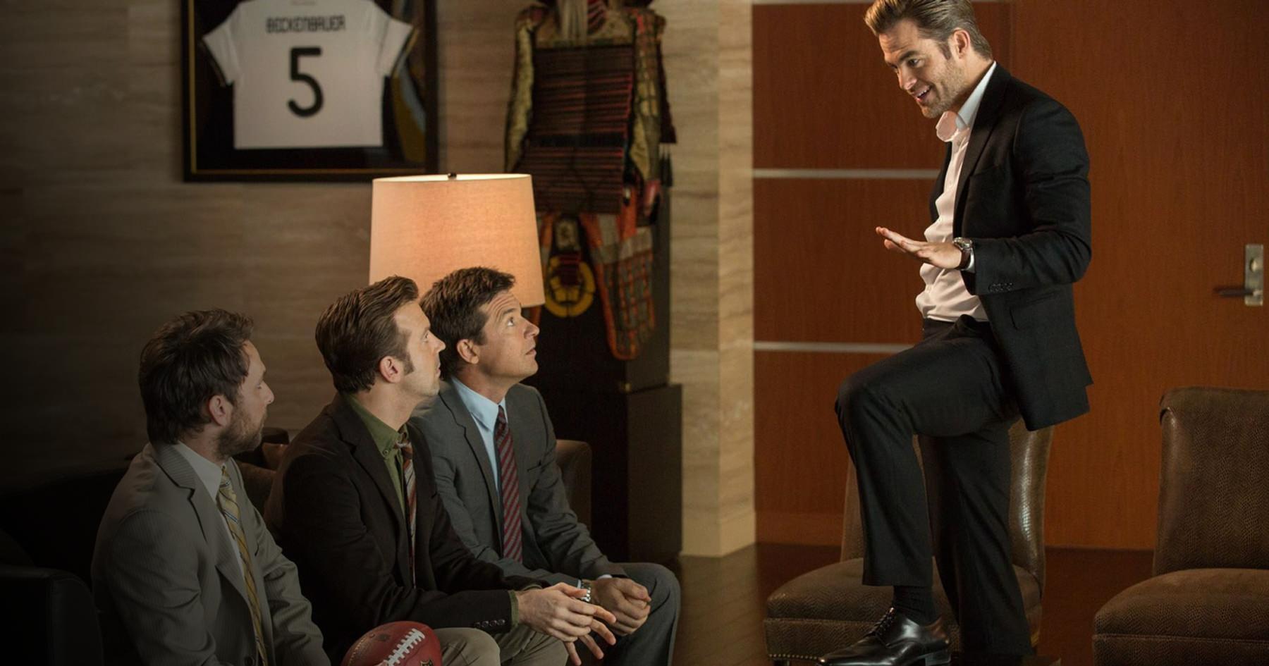 Charlie Day, Jason Sudeikis and Jason Bateman in Horrible Bosses 2