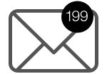 199: The average number of unread work emails