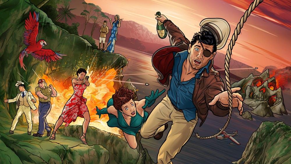 Archer: Danger Island, Season 9
