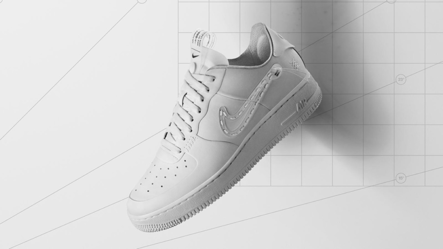 Nike Noise Cancelling Air Force 1 Low Top Sneaker