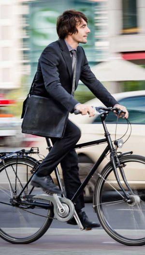 The history of biking to work