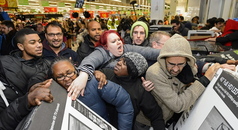 Stores that open early on Black Friday
