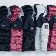 North Face Velvet Collection
