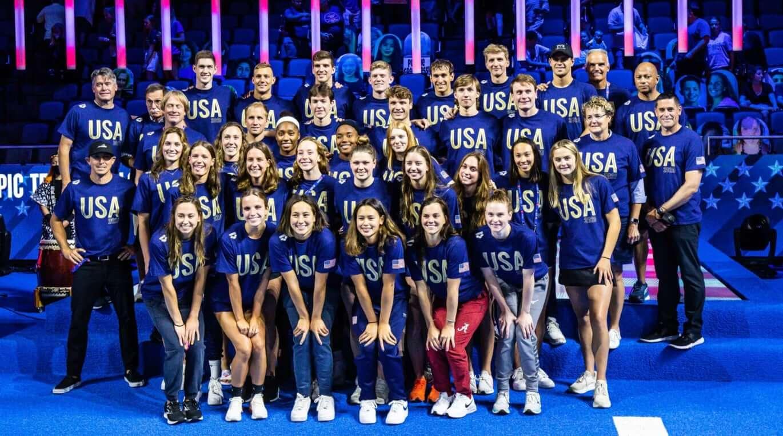 U.S. Olympic team Tokyo 2020