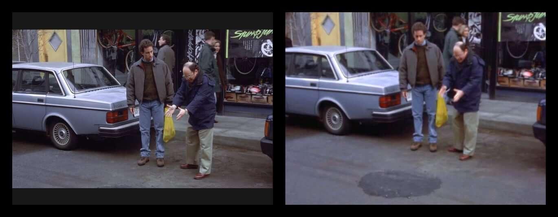 Seinfeld pothole joke