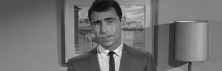 Rd Serling in The Twilight Zone
