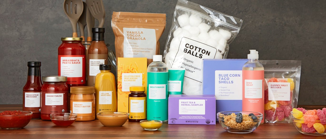 Affordable pantry staples from Brandless