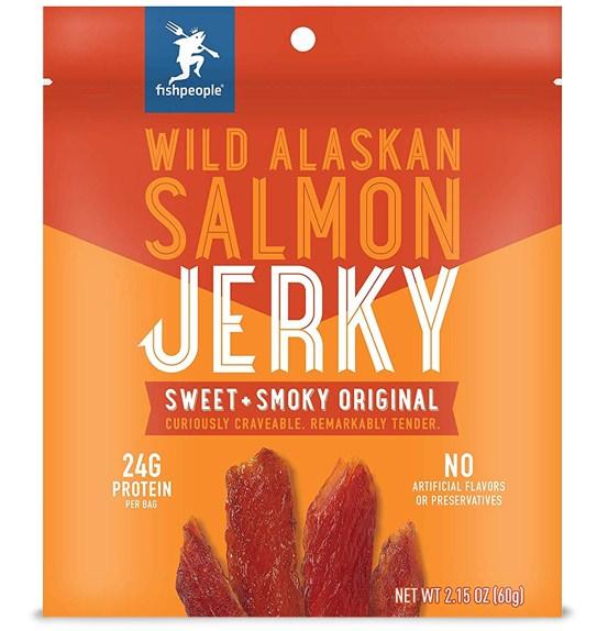 Fishpeople Salmon Jerky