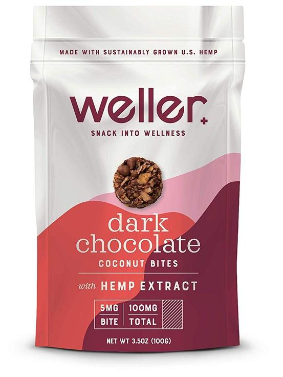 Weller CBD-Infused Coconut Bites