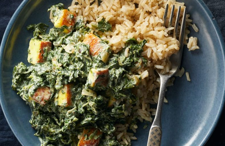 Saag Paneer Bowl recipe
