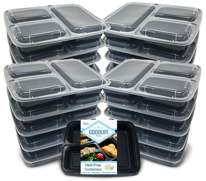 GoodLife Plastic Food Storage Containers